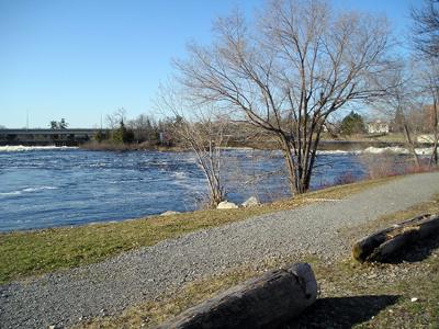 Weir River Path...